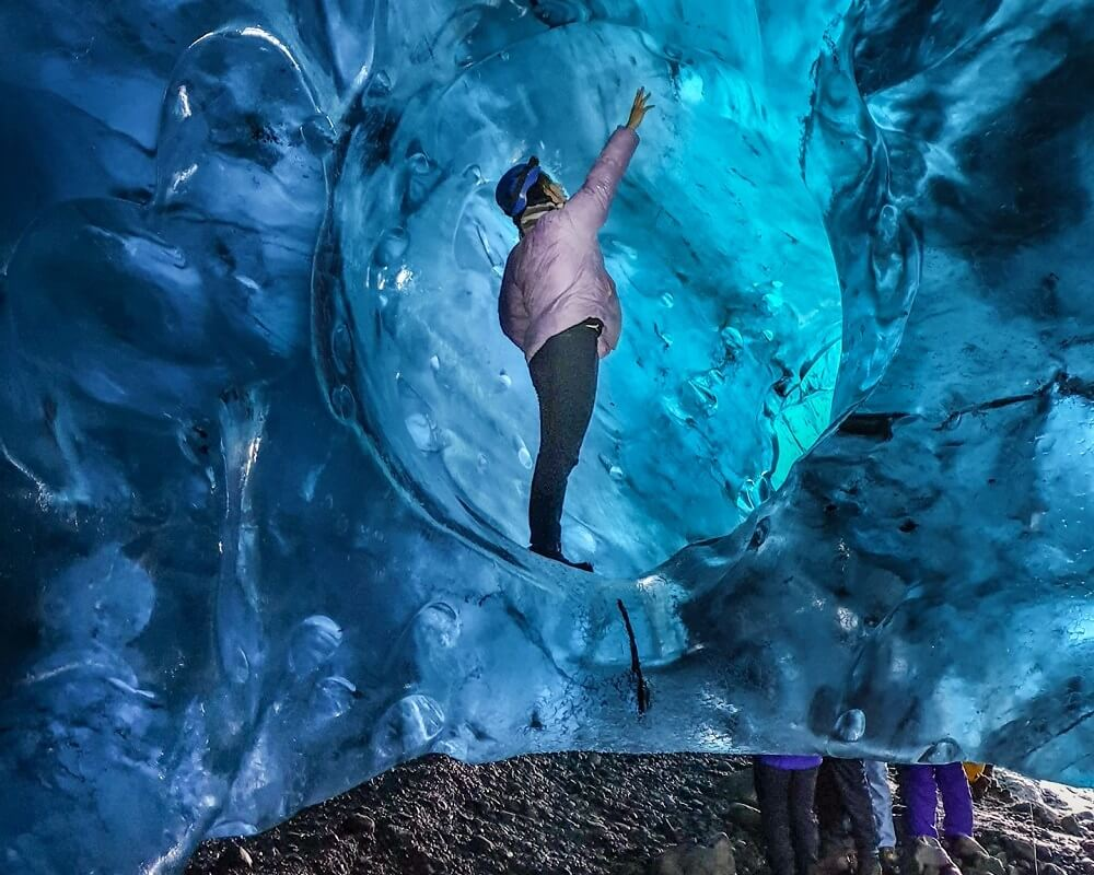 Ice Cave Inside The largest Glacier