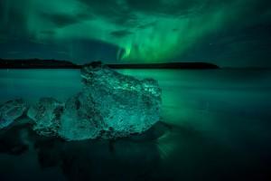 Vatnajokull Aurora